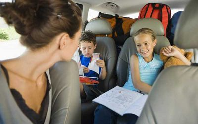 Road Trips with Children – Keeping them Occupied